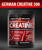 German Creatine 500g Post-Workout