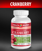 Concentrated Cranberry Extract 400mg (Detox)